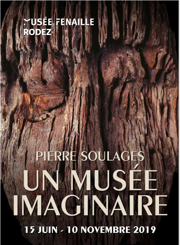 """Affiche de l'exposition """"Pierre Soulages, un musée imaginaire"""""""