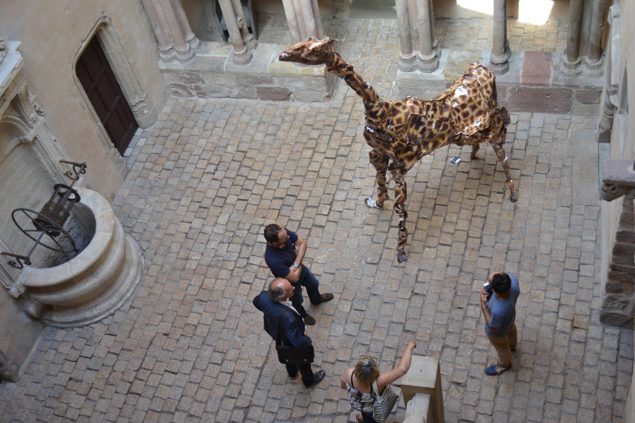 Girafe de Cyril Hatt
