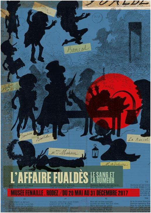 Affiche exposition L'affaire Fualdes