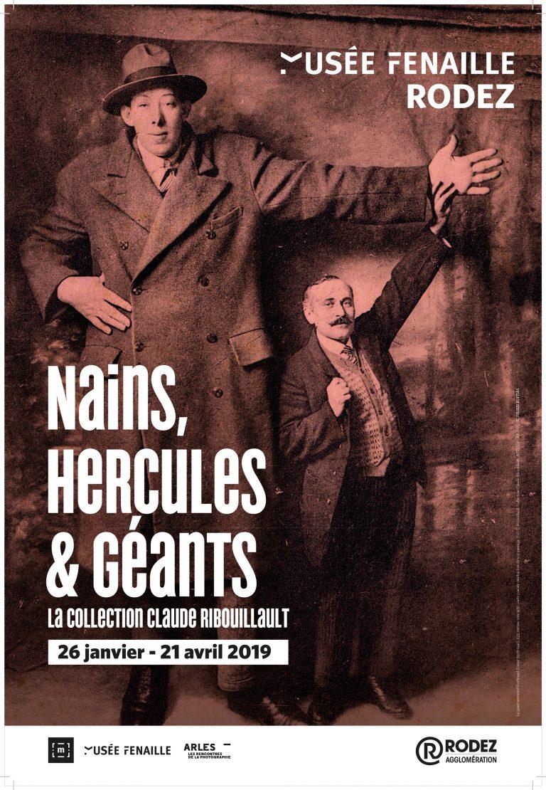 Affiche de l'exposition Nains, Hercules & Géants