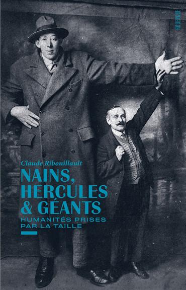 Couverture du catalogue de l'exposition Nains hercules et géantss