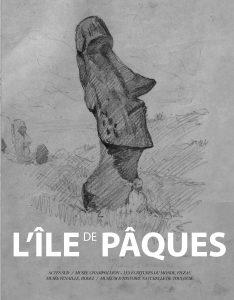 Couverture du catalogue d'exposition Île de Pâques