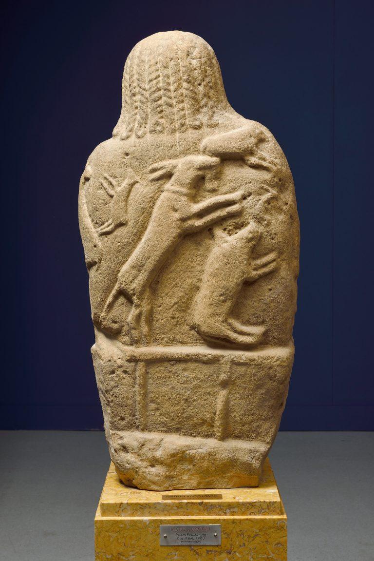 Statue du Coutarel, Poulan- Pouzols (Tarn), musée Toulouse- Lautrec