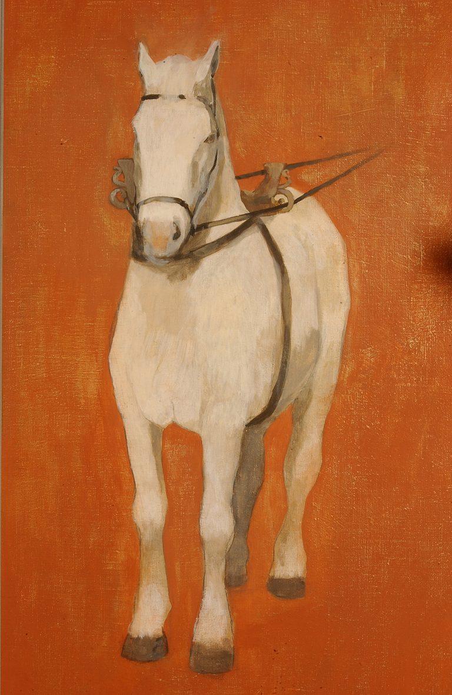 Essai de reconstitution du harnachement d'un cheval gallo-romain