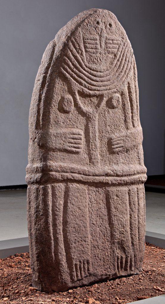 La Dame de Saint-Sernin, vue de face