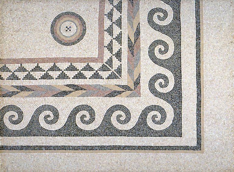Mosaïque découverte à Cadayrac (Salles-la-Source)