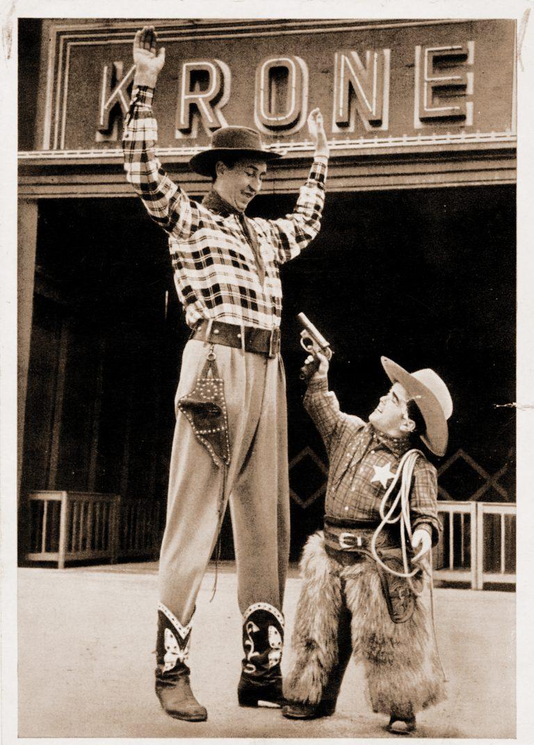 Bimbo du cirque