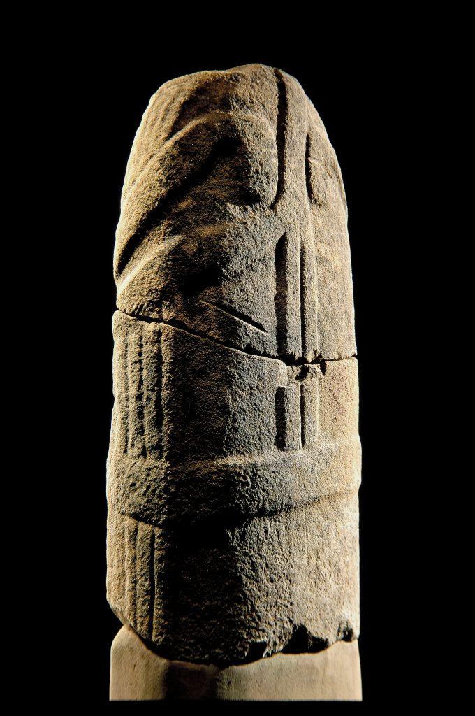 La statue-menhir de Saumecourte
