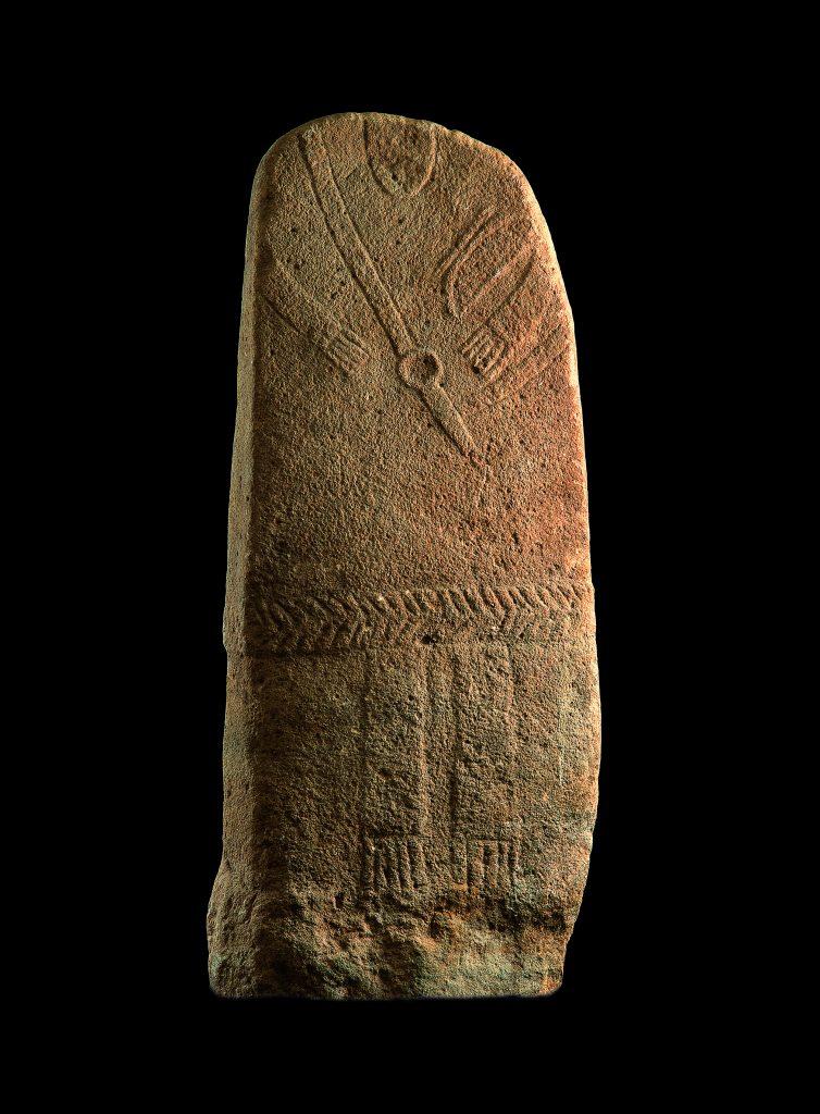 La statue-menhir des Maurels