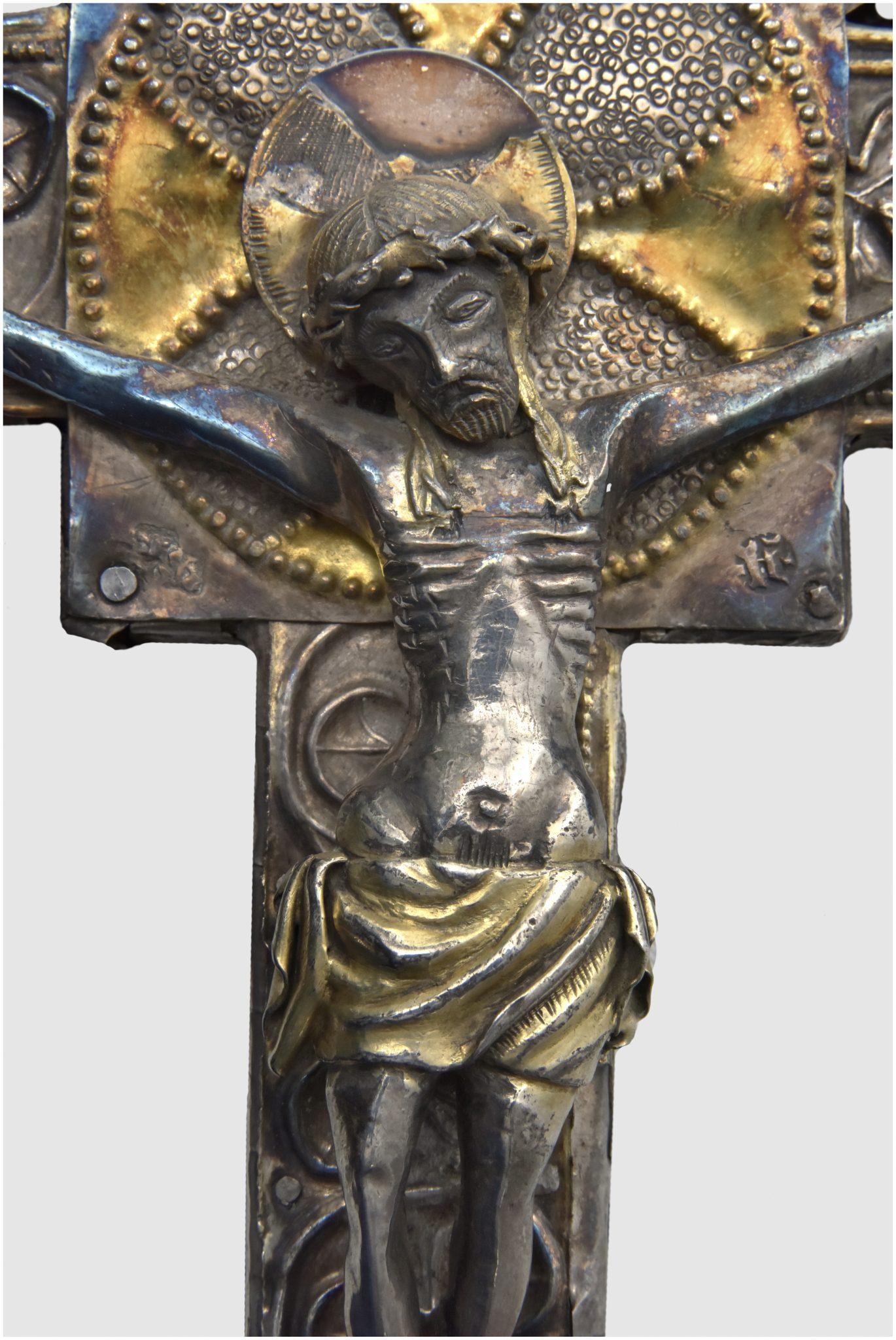 Croix de Trébosc (détail) © Commune de Gages-Montrozier/ DRAC Occitanie / Jean-François Peiré