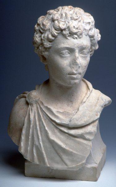 Buste de Marc-Aurèle en marbre