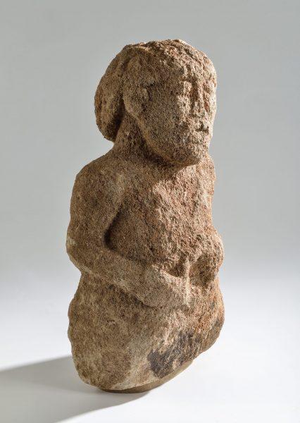 Sculpture gauloise dite « dieu de l'hôpital » découverte à Rodez (hôpital Combarel) en 1938