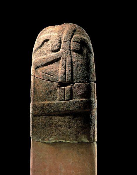 Statue-menhir de Saumecourte 1